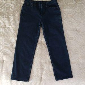 Talbots Capris Heritage Blue Jean's Womens 6